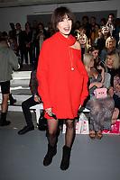Daisy Lowe<br /> front row at the Marta Jacubowski London Fashion Week SS18 catwalk show, London<br /> <br /> ©Ash Knotek  D3431  14/09/2018