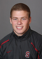 STANFORD, CA - OCTOBER 7:  Kyler Hasson of the Stanford Cardinal during wrestling picture day on October 7, 2009 in Stanford, California.