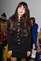 Zara Martin<br /> at the Teatum Jones AW17 show as part of London Fashion Week AW17 at 180 Strand, London.<br /> <br /> <br /> ©Ash Knotek  D3230  17/02/2017