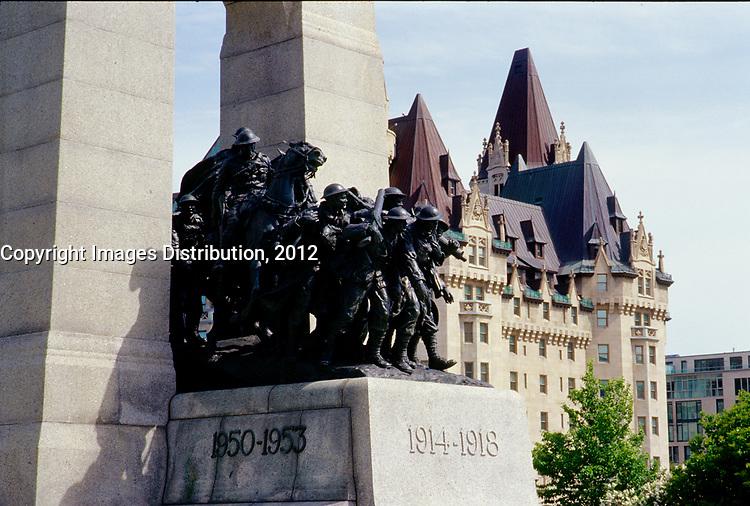 Ottawa (ON) CANADA - June 2008  File Photo --  War Monument