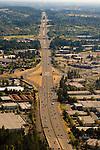 Aerial View of I-5, Oregon