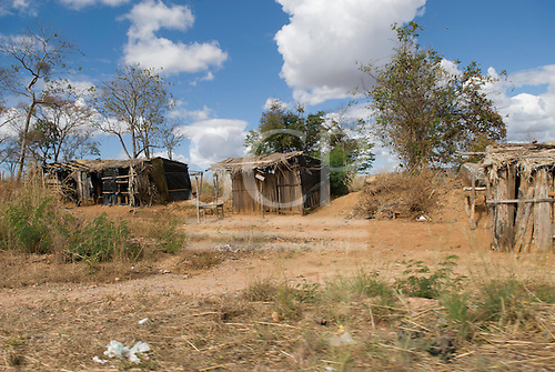 Nova Roma, Goias State, Brazil. Sem Terra (Landless People's Movement) squatters' settlement.