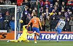 23.01.2019 Kilmarnock v Rangers: Eamonn Brophy scores