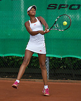 August 6, 2014, Netherlands, Rotterdam, TV Victoria, Tennis, National Junior Championships, NJK,  Noa Liauuw-A-Fong (NED)<br /> Photo: Tennisimages/Henk Koster