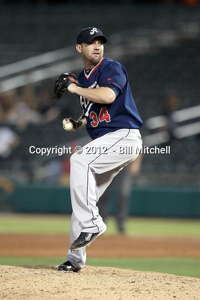 Mike DeMark - 2012 Reno Aces (Bill Mitchell)