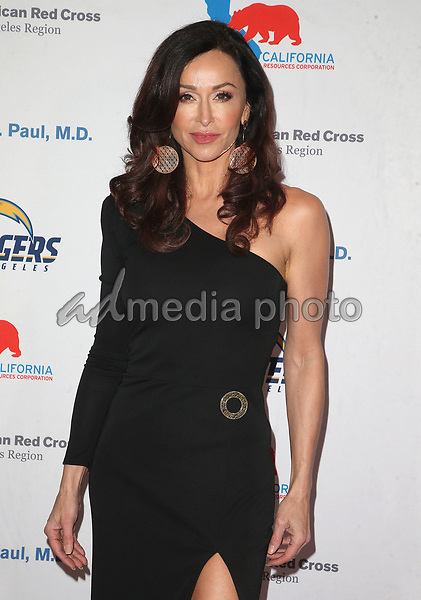09 March 2018 - Los Angeles, California - Sofia Milos. American Red Cross Annual Humanitarian Celebration Honoring The LA Chargers at the Skirball Cultural Center. Photo Credit: F. Sadou/AdMedia