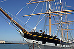 Balclutha, also known as Star of Alaska, Pacific Queen, or Sailing Ship Balclutha, is a steel-hulled full rigged ship that was built in 1886. She is the only square rigged ship left in the San Francisco Bay area and is representative of several different commercial ventures, including lumber, salmon, and grain. She is a U.S. National Historic Landmark and is currently preserved at the San Francisco Maritime National Historical Park in San Francisco, California. She was added to the National Register of Historic Places on 7 November 1976.[1]