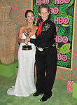 Emily Gerson Saines (L) and Temple Grandin. at The HBO Post Emmy party held at The Plaza at The Pacific Design Center in Beverly Hills, California on August 29,2010                                                                   Copyright 2010  Hollywood Press Agency