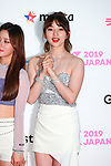 """Lo-Ha(Nature), May 19, 2019 : K-Culture festival """"KCON 2019 JAPAN"""" at the Makuhari Messe Convention Center in Chiba, Japan. (Photo by Pasya/AFLO)"""