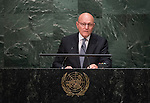 His Excellency Tammam Salam, President of the Council of Ministers of the Lebanese Republic<br /> <br /> 6th plenary meeting High-level plenary meeting of the General Assembly (3rd meeting)