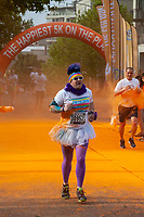 The Color Run 2015, Seattle Center, Washington, WA, USA.