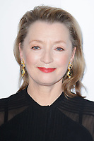 Lesley Manville<br /> arriving for the Critic's Circle Film Awards 2018, Mayfair Hotel, London<br /> <br /> <br /> ©Ash Knotek  D3374  28/01/2018