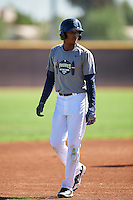 San Diego Padres Gabriel Arias (18) during an Instructional League camp day on October 4, 2016 at the Peoria Sports Complex in Peoria, Arizona.  (Mike Janes/Four Seam Images)