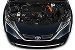Car Stock 2021 Toyota Venza Limited 5 Door SUV Engine  high angle detail view