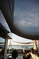 Europe/Turquie/Istanbul :  Spa en terrasse d'une suite de l'Hôtel Ritz Carlton