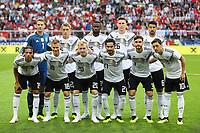Mannschaftsfoto  - 02.06.2018: Österreich vs. Deutschland, Wörthersee Stadion in Klagenfurt am Wörthersee, Freundschaftsspiel WM-Vorbereitung