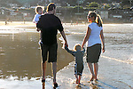 Kimberli, Nicholas, Samantha and me at the beach in Pacifica for New Year's Day.<br /> Photo by our friend Janet S.
