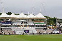 Pyrotechnics after the Anthems are respected prior to India vs New Zealand, ICC World Test Championship Final Cricket at The Hampshire Bowl on 19th June 2021