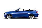 Car Driver side profile view of a 2017 BMW 2-Series M230i 2 Door Convertible Side View