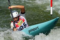4th September 2021; Parc Olimpic del Segre, La Seu D'Urgellm ICF Slalom World Cup, Women's Kayak Final;  Noemie Fox (AUS)