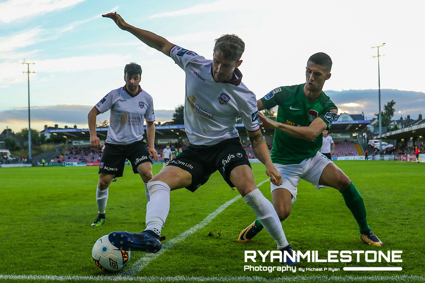2017 SSE Airtricity League, Premier Division, Cork City vs Galway United, Turners Cross, Lee Grace in action, Credit: Michael P Ryan