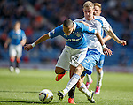 Arnold Peralta tackled by Kevin Holt