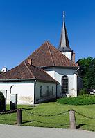 Dreifaltikeitskirche in Tukums, Lettland, Europa