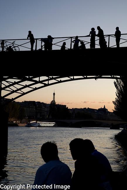 Pont des Arts Bridge, Paris, France