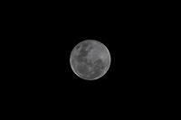 SÃO PAULO, SP, 26.05.2021 - CLIMA-SP - Super lua cheia vista na região central de São Paulo, nesta quarta-feira, 26. (Foto Charles Sholl/Brazil Photo Press)