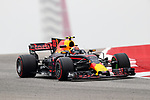 Toro Rosso driver Max Verstappen (33) of Netherlands in action before the Formula 1 United States Grand Prix race at the Circuit of the Americas race track in Austin,Texas.
