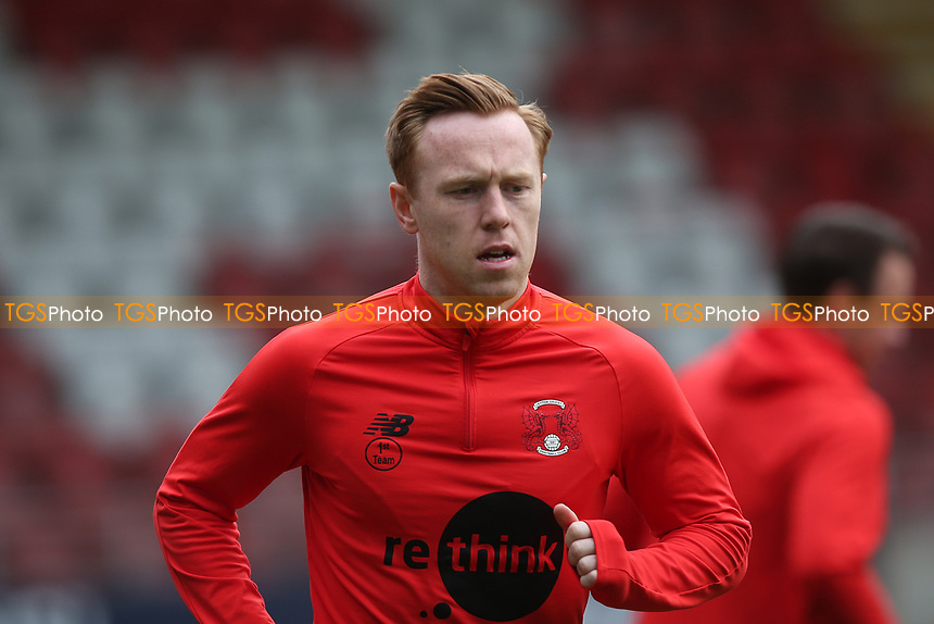 Danny Johnson of Leyton Orient during Leyton Orient vs Oldham Athletic, Sky Bet EFL League 2 Football at The Breyer Group Stadium on 27th March 2021