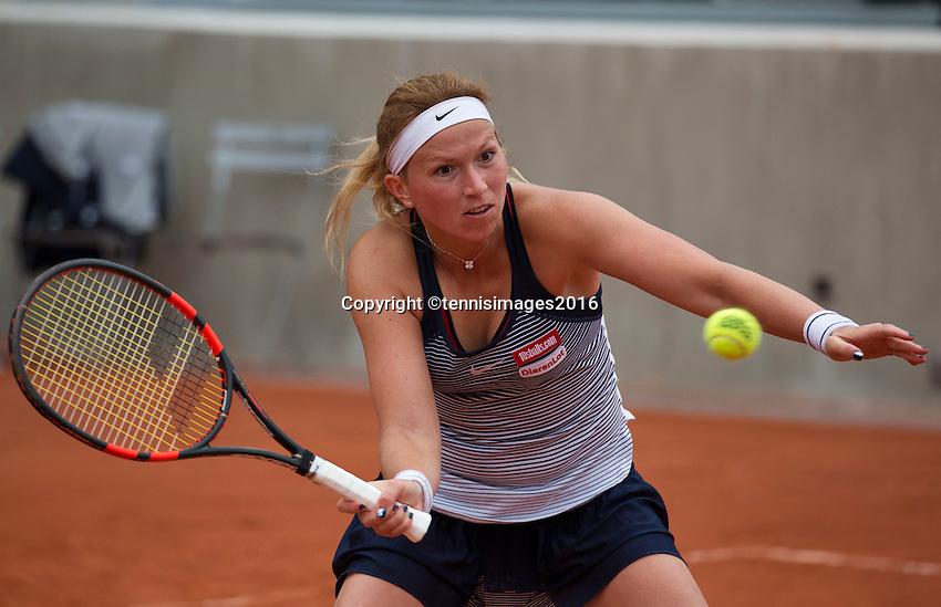 Paris, France, 26 June, 2016, Tennis, Roland Garros,  Michaella Krajicek (NED)<br /> Photo: Henk Koster/tennisimages.com