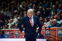VALENCIA, SPAIN - NOVEMBER 18: Alain Weisz during EUROCUP match between Valencia Basket Club and CAI SLUC Nancy at Fonteta Stadium on November 18, 2015 in Valencia, Spain