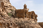 The Deir, buit on the top of a mountain is one of the most fascinating monument of  Petra. Jordan