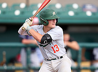 Mosley Dolphins Coleman Rowan (13) during the 42nd Annual FACA All-Star Baseball Classic on June 6, 2021 at Joker Marchant Stadium in Lakeland, Florida.  (Mike Janes/Four Seam Images)