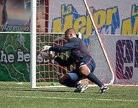 Earl Edwards training before the 2009 CONCACAF Under-17 Championship From April 21-May 2 in Tijuana, Mexico