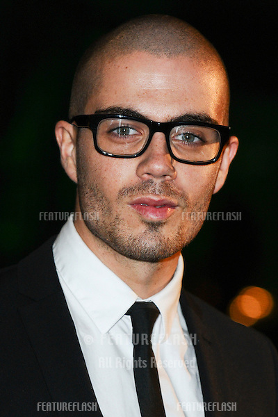 Max George (The Wanted) arriving for the Spectacle Wearer of the Year 2011 Awards, London. 16/11/2011  Picture by: Steve Vas / Featureflash