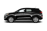 Car Driver side profile view of a 2018 Hyundai Tucson SE 5 Door Suv Side View