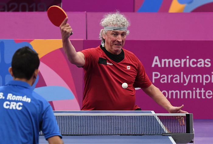 Ian Kent, Lima 2019 - Para Table Tennis // Para tennis de table.<br /> Ian Kent competes in Para Table Tennis // Ian Kent participe en Para tennis de table. 24/08/2019.