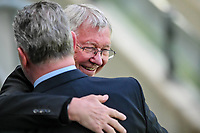 26th May 2021; STADION GDANSK  GDANSK, POLAND; UEFA EUROPA LEAGUE FINAL, Villarreal CF versus Manchester United:  Alex Ferguson attends the match
