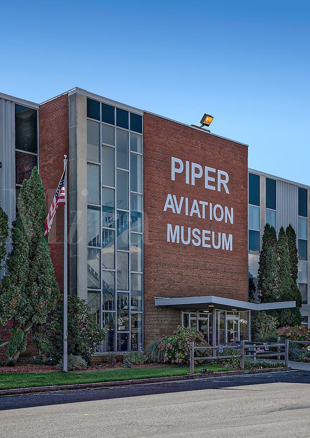 Piper Aviation Museum, Lock Haven, Pennsylvania, USA