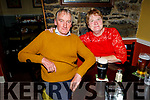 Dominic and Kathleen O'Shea from Tralee, enjoying the evening in the Brogue Inn on Saturday.
