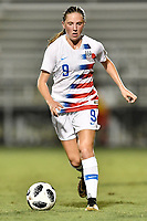 Lakewood Ranch, FL - Wednesday, October 10, 2018:   Hannah Bebar during a U-17 USWNT match against Colombia.  The U-17 USWNT defeated Colombia 4-1.