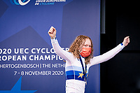 Puck Pieterse (NED) becomes the new European Women's U23 Champion<br /> <br /> UEC Cyclocross European Championships 2020 - 's-Hertogenbosch (NED)<br /> <br /> U23 Women's Race<br /> <br /> ©kramon