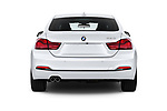 Straight rear view of a 2020 BMW 4 Series 430i Gran Coupe 5 Door Hatchback stock images