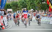 stage 1 winner: Arnaud Démare (FRA/FDJ.fr)<br /> <br /> Euro Metropole Tour 2014 (former Franco-Belge)