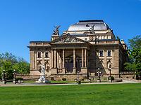 Theater, Wiesbaden, Hessen, Deutschland, Europa<br /> theatre, Wiesbaden, Hesse, Germany, Europe