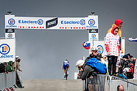Stefan Küng (SUI/Groupama-FDJ) topping the Mont Ventoux (for a second time today)<br /> <br /> Stage 11 from Sorgues to Malaucène (199km) running twice over the infamous Mont Ventoux<br /> 108th Tour de France 2021 (2.UWT)<br /> <br /> ©kramon
