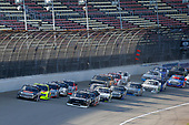 #51: Chandler Smith, Kyle Busch Motorsports, Toyota Tundra JBL and #23: Brett Moffitt, GMS Racing, Chevrolet Silverado green flag start