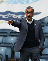 17th October 2020; Ewood Park, Blackburn, Lancashire, England; English Football League Championship Football, Blackburn Rovers versus Nottingham Forest ; Nottingham Forest manager Chris Hughton issues instructions to his players